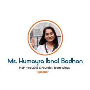 Ms. Humayara Ibnat Badhon, Bangladesh