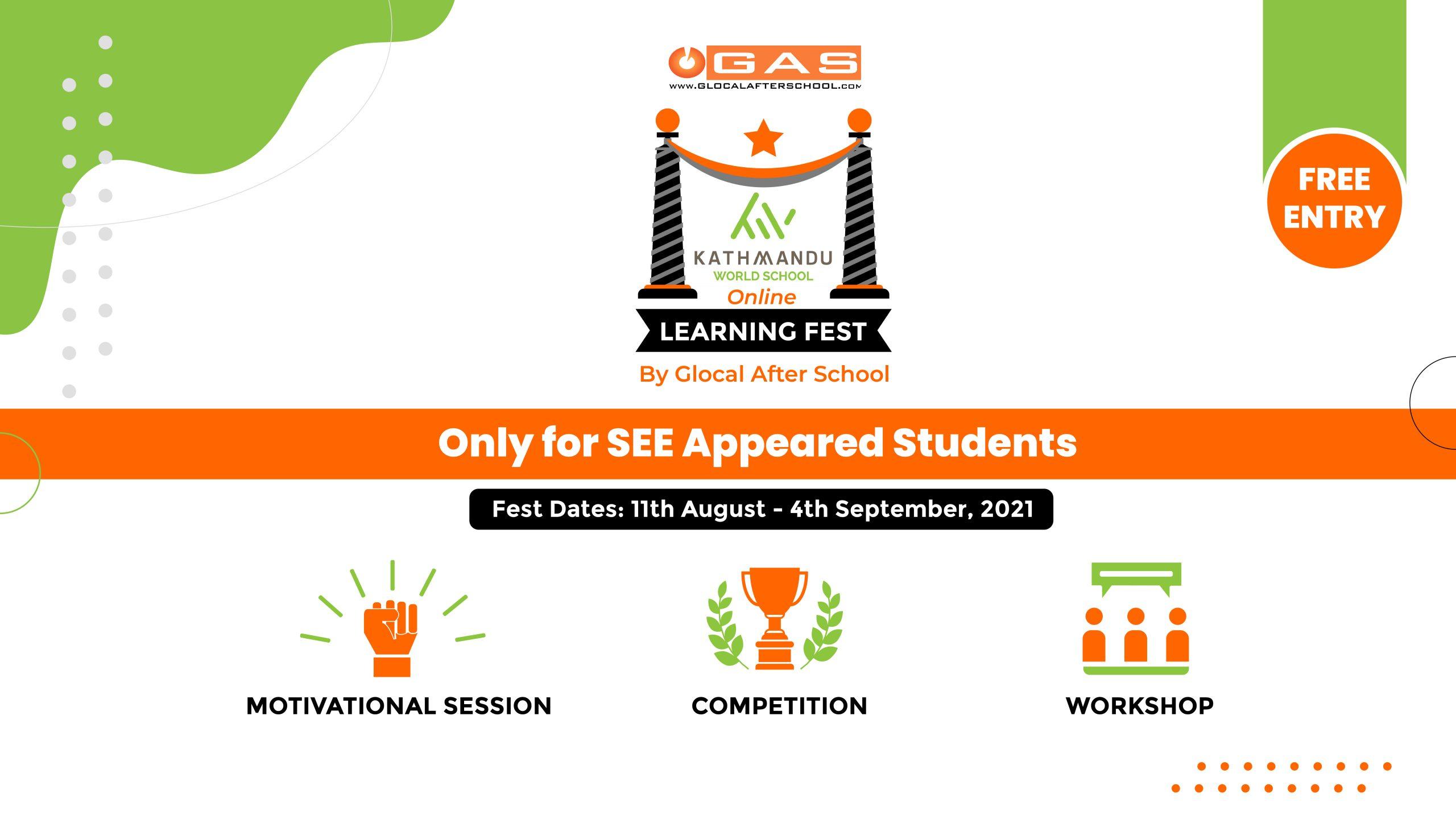 KWS presents Online Learning Fest- 2021
